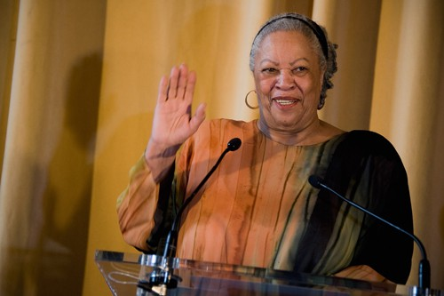 US Author Toni Morrison Receives Honor Medal of The City of Paris