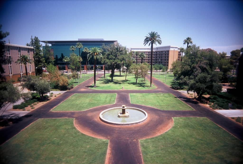 Arizona State University ASU_mall