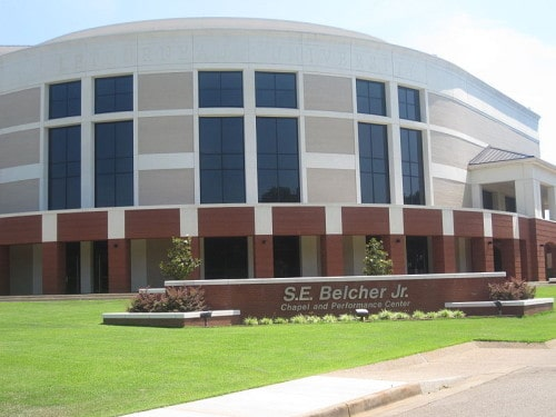 LeTourneau University 800px-Belcher_Chapel_and_Performing_Arts_Center,_Longview,_IMG_4023