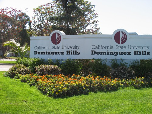 dominguez-hills-sign