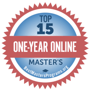 1 year masters programs online