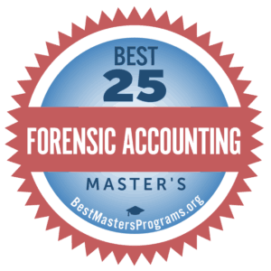 forensic accounting master's degree