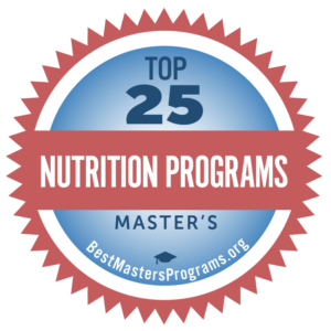 nutrition masters programs online