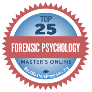 top forensic psychology masters programs