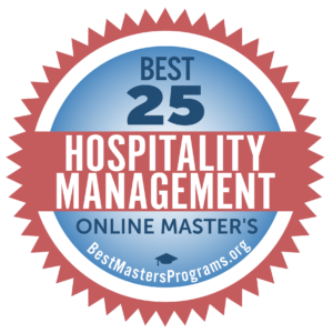 online masters degree in hospitality management