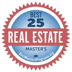 best masters in real estate